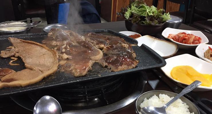 ร้านเนื้อย่างเกาหลี